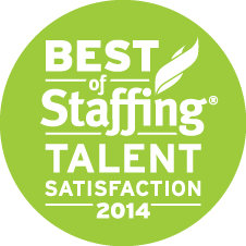2014 Best of Staffing Talent Award