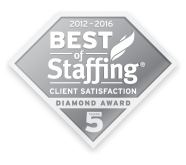 Best of Staffing Client Diamond Award Winner (2012-2016)