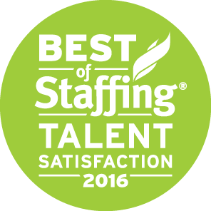2016 Best of Staffing Talent Award