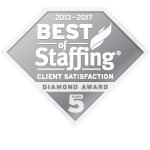 2017 Best of Staffing Client Diamond Award Winner