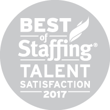 2017 Best of Staffing Talent Satisfaction Award | Sparks Group