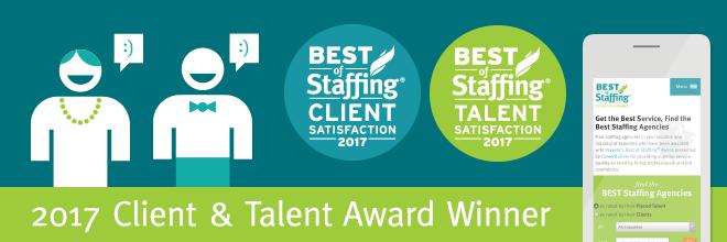 2017 Client and Talent Award Winner