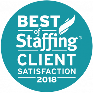 2018 Best of Staffing Client Award