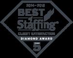 2018 Best of Staffing Client Diamond Award Logo