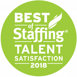 2018 Best of Staffing Talent Award Logo