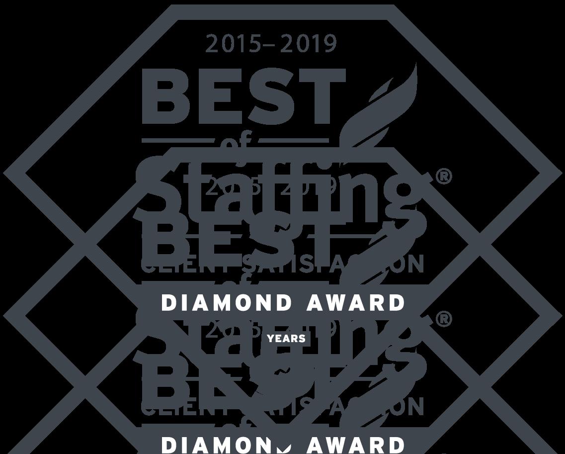 2019 Best of Staffing - Client Diamond Award