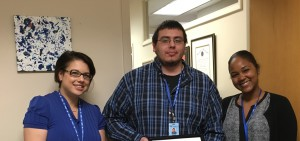 David Alger - Contract Employee of the Quarter