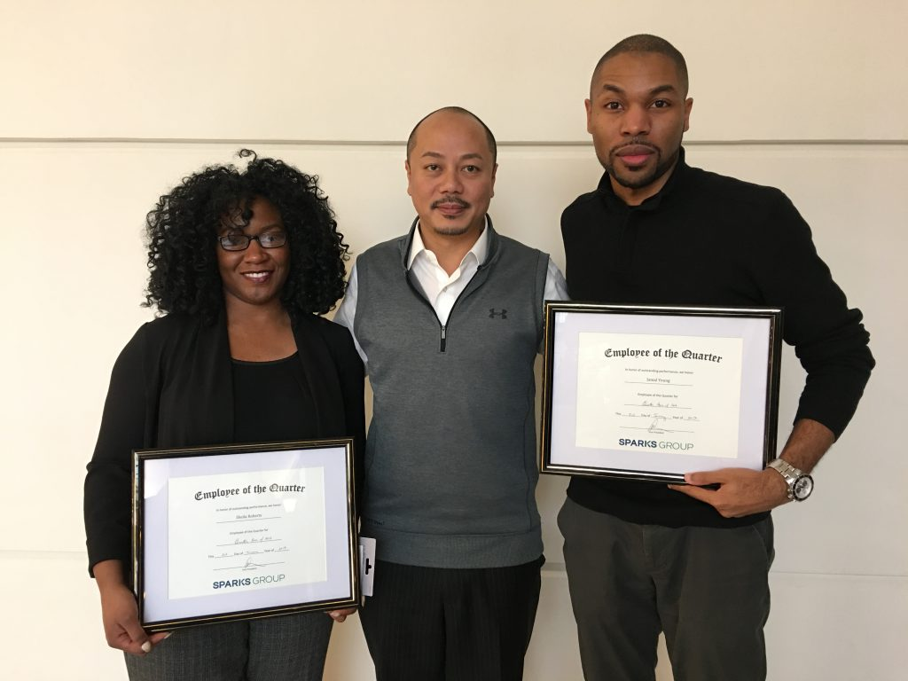 Contract Employees of the Quarter - January 2017