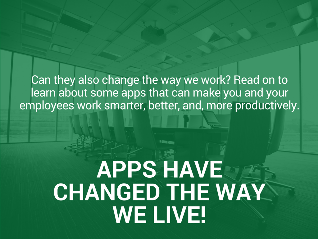 Employee Productivity There's an App for That - Slide 3