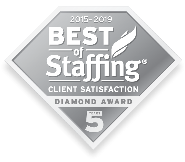 Best of Staffing Client Satisfaction Diamond Award 5 years