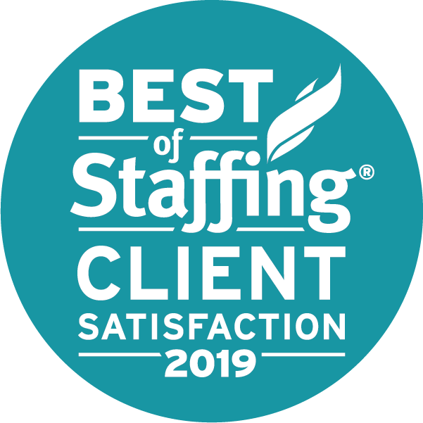 2019 Best of Staffing Client Award