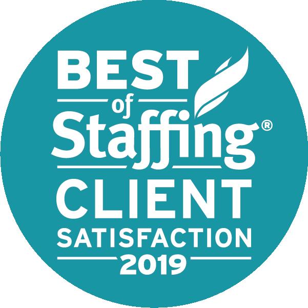 2019 Best of Staffing Award