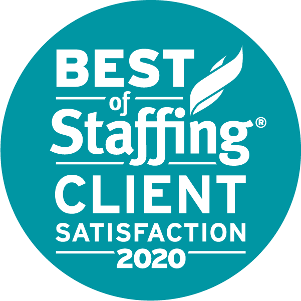 2020 Best of Staffing Client Satisfaction Award