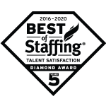 2020 Best of Staffing Talent Satisfaction Diamond Award | Best Staffing Agencies