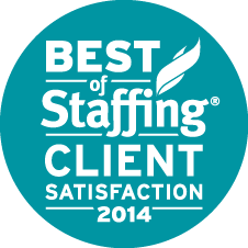 2014 Best of Staffing Client Award