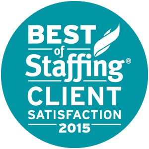 2015 Best of Staffing Award