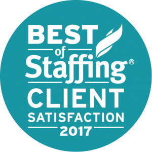 2017 Best of Staffing Client Award