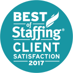 2017 Best of Staffing Client Satsfaction