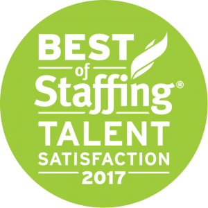 2017 Best of Staffing Talent Award
